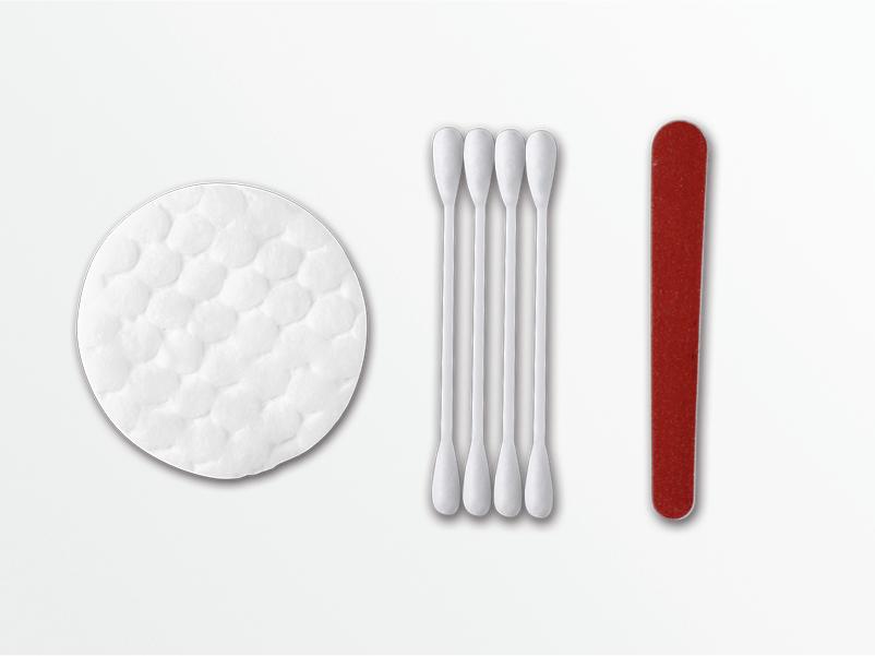 Косметический набор в картонной упаковке