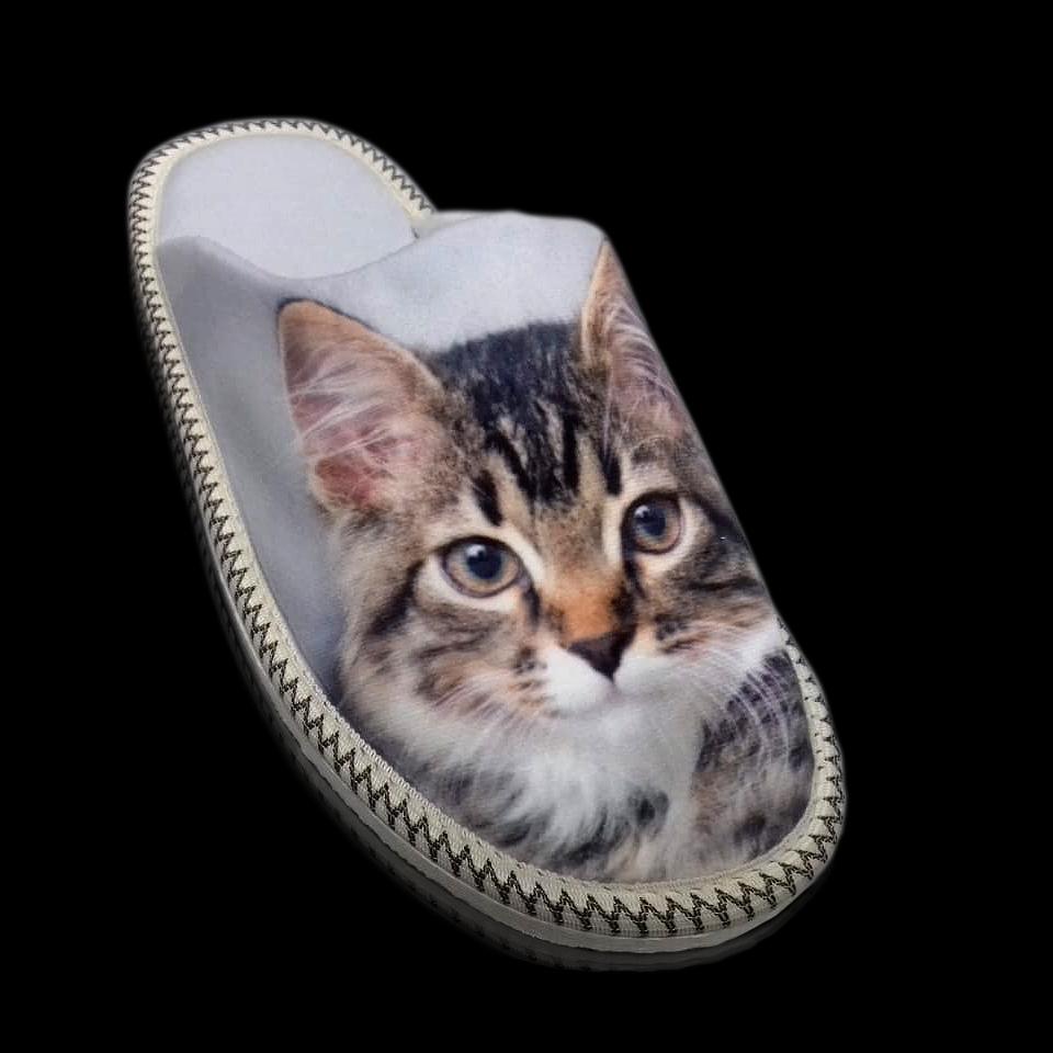Кошка ( велюр, принт. Принт от 100пар можно заказать свой)